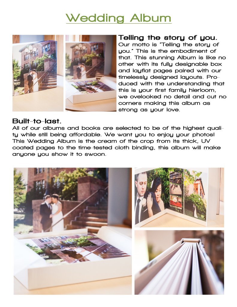 2Wedding Album Description